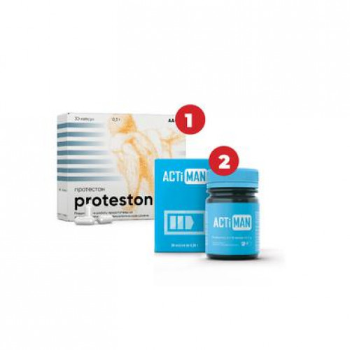 Биорегулятор Протестон +Актимен (2шт)
