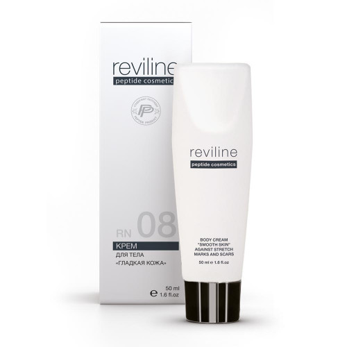 RN08 Крем для тела против растяжек и рубцов (гладкая кожа)