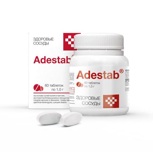 Адестаб, здоровые сосуды