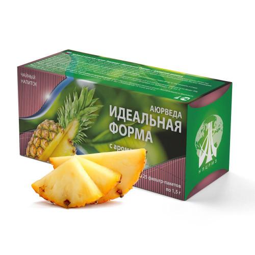 """Чай """"Идеальная форма"""" со вкусом ананаса"""